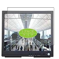 3枚 VacFun フィルム , Pelco PMCL419HB 19インチ ディスプレイ モニター 向けの 保護フィルム 液晶保護 フィルム 保護フィルム(非 ガラスフィルム 強化ガラス ガラス )