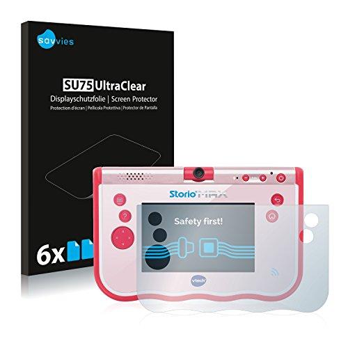 savvies Protection Ecran Compatible avec Vtech Storio Max 5 (6 Pièces) - Film Protection Ultra Clair