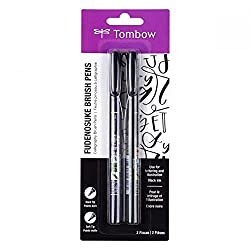 tombow hand lettering and calligraphy pens