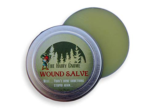 The Hairy Gnome- Hiker's Wound Salve. When You've Done Something Stupid.We are here to Help. 100% Nautural.Organic Salve for Rashes, Acne, Wounds. Eco Friendly Company
