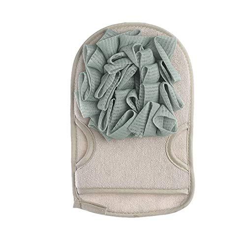 KGDC Cepillo de Ducha Guantes de baño Toalla de Doble Cara frotamiento de Espalda Guantes de baño Hogar Products Products Cepillos Corporales (Color : A)