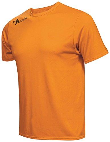 Asioka 130/16 Camiseta Deportiva, Unisex Adulto, Naranja, L