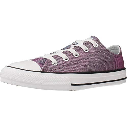 Zapatillas para ni�a, Color Morado (PUREPLATIN), Marca CONVERSE, Modelo Zapatillas para Ni�a CONVERSE 665100C Morado