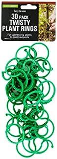 bulk buys HX314 Twisty Plant Rings, Green