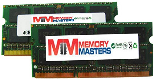 MemoryMasters 16GB 2 X 8GB Memory for Apple Mac Mini 2.0GHz 2.7GHz Intel Core i7 with Thunderbolt I/O Mid 2011 1333MHz DDR3 (PC3-10600) SO-DIMMs RAM (MemoryMasters) (Renewed)