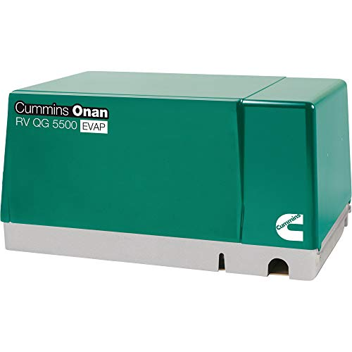 Cummins Onan Quiet Series Gasoline RV Generator - 5.5 kW, CARB and EPA Compliant, Model Number 5.5HGJAB-7103