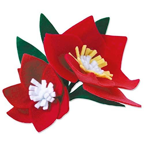 Sizzix Bigz Troquel Flores pequeñas, 665494, Multicolor, One Size