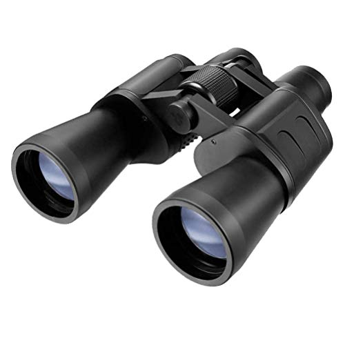 Serious user 10x50 binoculars with fully coated optics for all uses including birdwatching, astronomy, sports and wildlife. 10 x 50 high power magnification. Comes with case, lens caps, strap, cloth and warranty.
