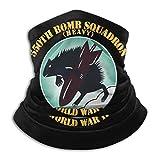 AAC - 550th Bomb Squadron - 385th BG Bufanda de Microfibra para Calentar el Cuello Polaina Headwear Pañuelo Facial