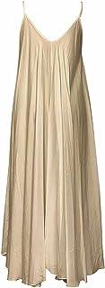 Seta Apparel womens Malibu Scoop Neck Long Dress Casual Dress