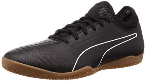Puma 365 Roma 2 Sala, Zapatilla de fútbol Sala, Puma Black-Puma White-Gum, Talla 11 UK (46 EU)