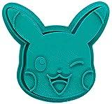 Stampo per biscotti – Pokémon – Pikachu faccia (turchese)