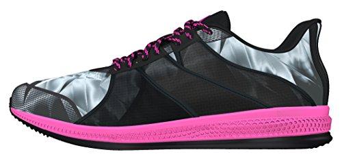 adidas Gymbreaker Bounce, Zapatillas de Deporte Exterior Mujer, Negro (Negbas/Rosimp/Grimed), 36 2/3 EU
