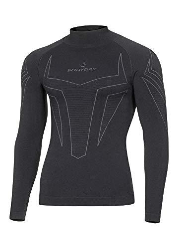 BodyDry 'Débardeur Fonction Homme X de Shock Sous-vêtement fonctionnel de sous-vêtement de Ski Thermiques – Ski – pour ski snowboard Roue – Sous-Vêtement Moto – Sous-vêtements thermiques XXL noir