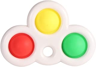 Likeonice Silicone Fat Brain Toys Dimpl Digits Baby Toys Dimple Toy Pressure Reliever Board Controller Educational Toys fo...