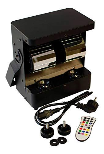 Redshow SCA-42 - LED Scanner mit 2 Stück 12 Watt RGBW LEDs und variablem Dimmer (0%-100%), DMX gesteuert