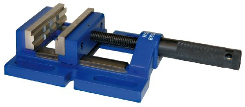 Röhm 863421 Type 729-60 DPV Cast Metal Drilling Machine Vise with SBO V-Jaw, 80mm Jaw Width, 234mm Length, Size 1