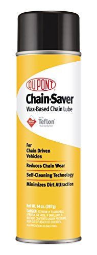 DuPont Teflon Chain-Saver Dry Self-Cleaning Lubricant, 14-Ounce