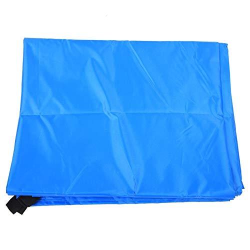 Pwshymi Bloque de toldo de protección Solar de Vela de Parasol Duradero Almacenamiento fácil para jardín para Patio(Zhongtianmu, Blue)