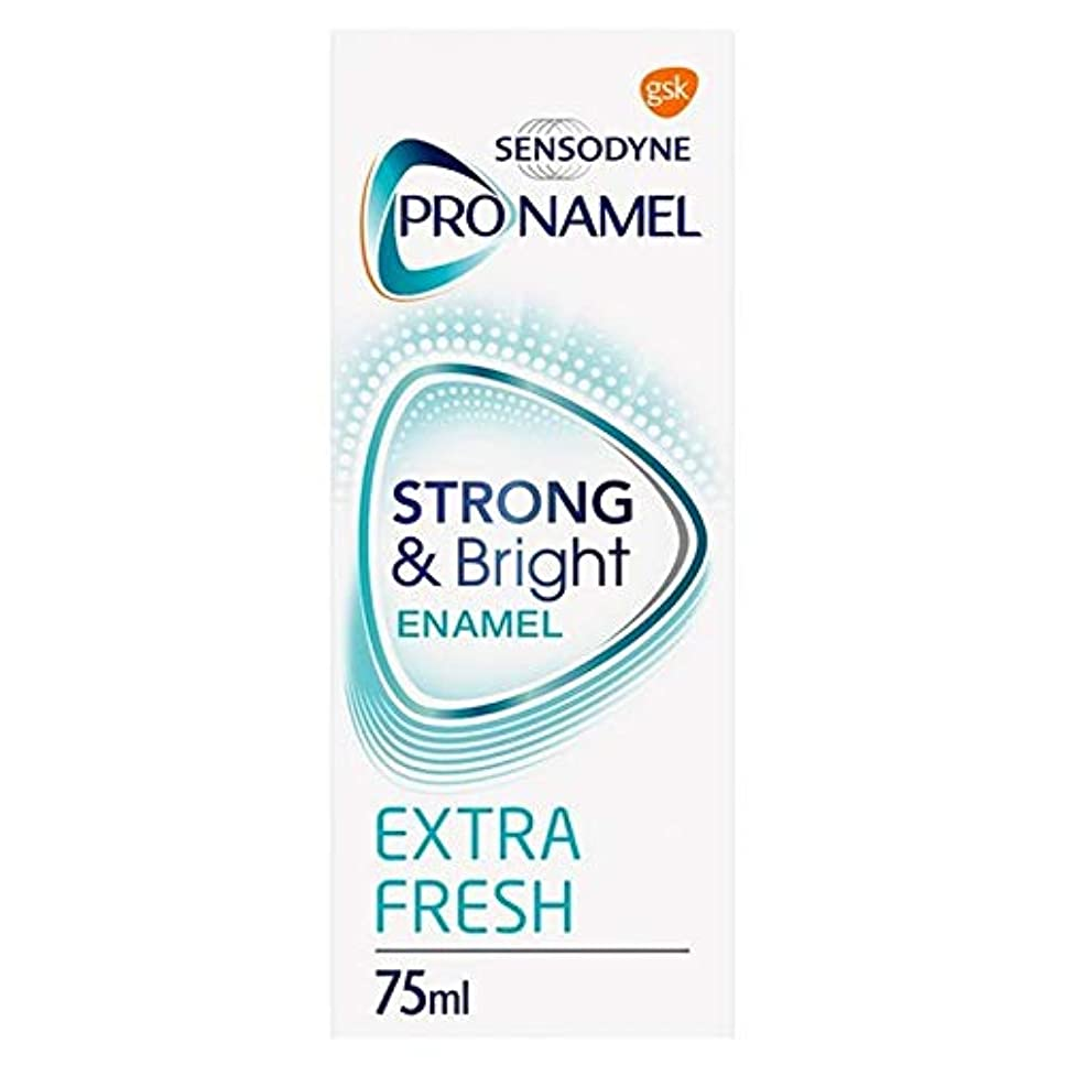 知覚できる光の真剣に[Sensodyne] SensodyneのPronamel強い&ブライト歯磨き粉75ミリリットル - Sensodyne Pronamel Strong & Bright Toothpaste 75ml [並行輸入品]