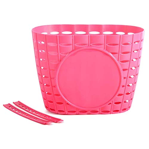 YZCH Bike Basket for Girls,Bicycle Basket,Front Handlebar Kids Bicycle Basket Lightweight Durable Bicycle Basket for Kids