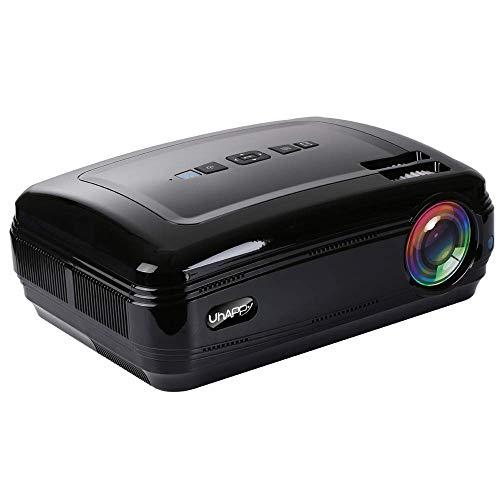 Draagbare multimedia-projector, videoprojector, thuisbioscoop, compatibel met tablet, tv-stick, dvd-speler