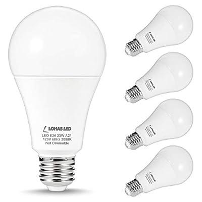 LOHAS A19 LED Dusk to Dawn Sensor Light Bulb E26