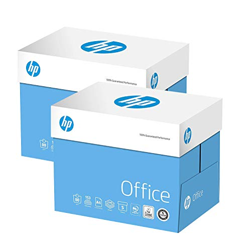 HP Papers, Kopierpapier, A4, 80 g/m², 2 Ries 10 x 500 Sheets weiß