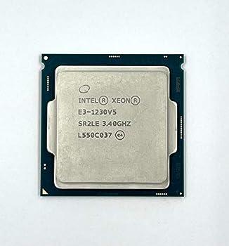 Intel Xeon Quad Core Processor E3-1230 V5 SR2LE 3.40GHz 8M Server CPU  Renewed