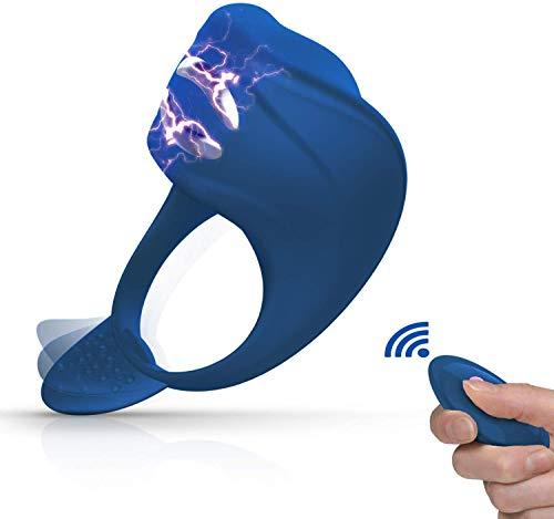 FIDECH Masajeador portátil, 7 niveles de frecuencia, fabricado con silicona suave, resistente al agua, carga USB