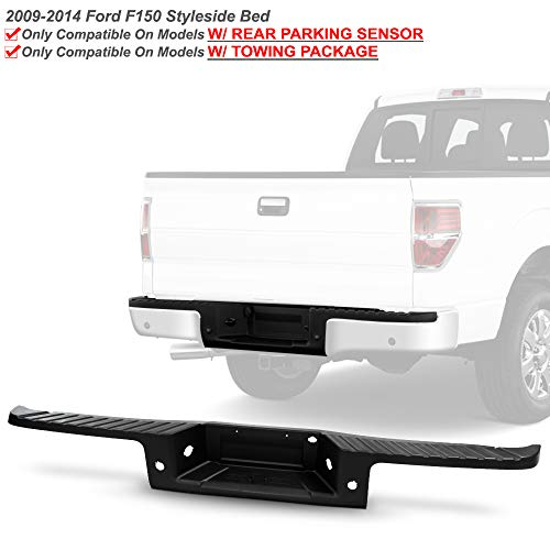 ACANII - For 2009-2014 Ford F150 Pickup Truck w/Rear Sensor Hole and Hitch Black...