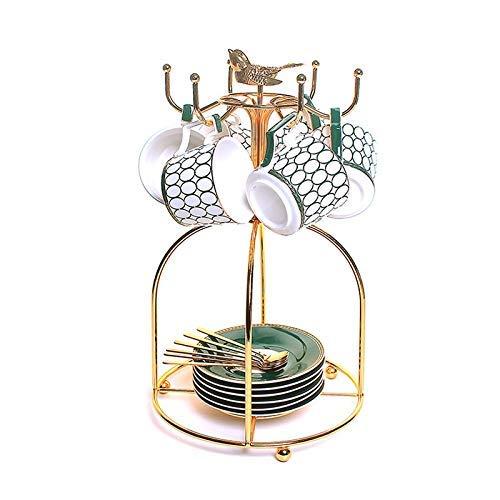 Czajnik ceramiczny zestaw herbaty garnek czajnik gorący odporny na gorączkę Bouilloire Theepot Coffee Cups kubki złoto czajniczek TNSYGSB
