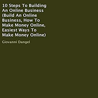 10 Steps to Building an Online Business audiobook cover art