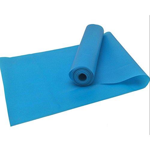 Super Oefening Band 200Cm Lange Weerstand Banden. Flat Latex Gratis Thuis Gym Fitness Apparatuur Voor Fysieke Therapie, Pilates, Stretch, Yoga, Kracht Training Workout. In licht, medium of zware spanning.