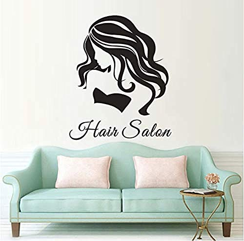 Wall Stickers Decal Beauty Salon Decor Woman Female Girl Hands Spa Manicure Decor Art Nail Salon Wall Mural 26X57Cm