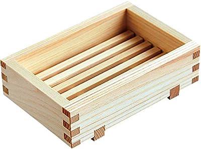 ヤマコー ソープディッシュ ひのき石けん箱 小 12.5×3.5×8.5cm 85646