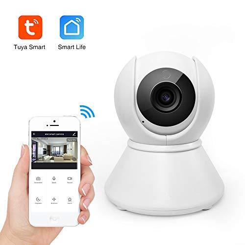 aixi-SHS Wi-Fi Interior cámara IP Inteligente 1080P detección de Movimiento de Alta definición de Audio de Dos vías grabación de Bucle de la Noche versión-Smart Life App