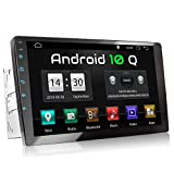 XOMAX XM-2VA1001 Radio de Coche con Android 10 I Quad Core, 2GB RAM, 32 GB ROM I GPS I Soporte WiFi, 3G, 4G, Dab+, OBD2 I Bluetooth I 10' XXL Pantalla Táctil I 2X USB, RDS I 2 DIN