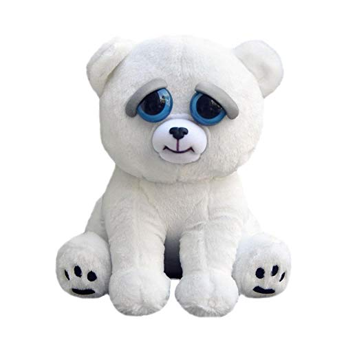 William Mark Karl the Snarl Plush Stuffed Polar Bear, 8.5-Inch