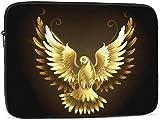 BONRI Funda para computadora portátil Gold Dove compatible con estuche para computadora portátil de moda de 10-17 pulgadas, 17 pulgadas