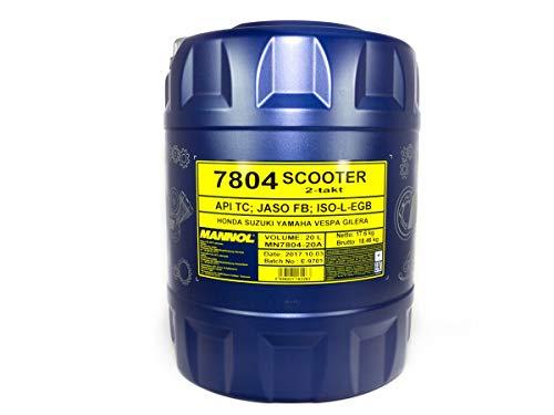 MANNOL 7804 Scooter 2-Takt API TC, 20 Liter