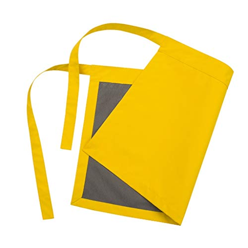 WGZ- Schort Schilderen Werkkleding Anti-vuil Household Kitchen Kleding Werkkleding Comfortabel (Color : Yellow)