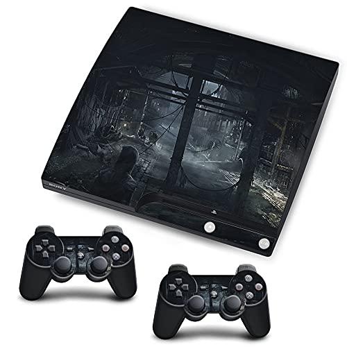 VINILOL Vinilo Thief para Playstation 3 Slim pegatina cubierta Thief skin para consola y 2 mandos