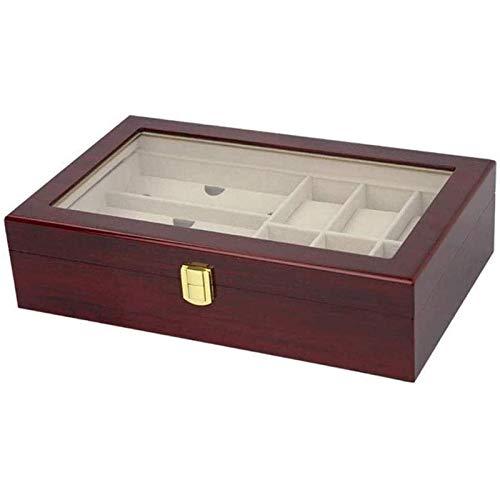 Hxcuza Aufbewahrungsbox für Uhren, Holzkiste für Geschenkverpackungen, Exquisite Sammelbox für Uhrenarmbänder