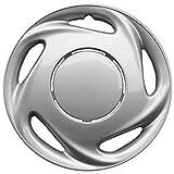 Drive Accessories KT-885-14S/L, Toyota Corolla, 35,6 cm (14 Zoll), Silberne Nachbildung, 4 Stück