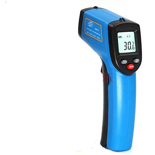 0.5秒瞬間計測!単4電池使用日本語取説(-50〜400℃)触れずに計れる非接触温度計 赤外線温度計 赤外線放射温度計