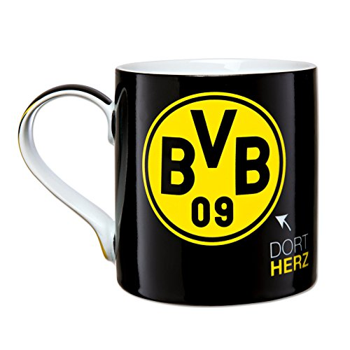 Borussia Dortmund, BVB-Tasse-Dortmund, Schwarz / Gelb, 0