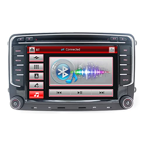 autoradio 8gb ram Navigatore GPS per Auto Stereo da 7 pollici per VW
