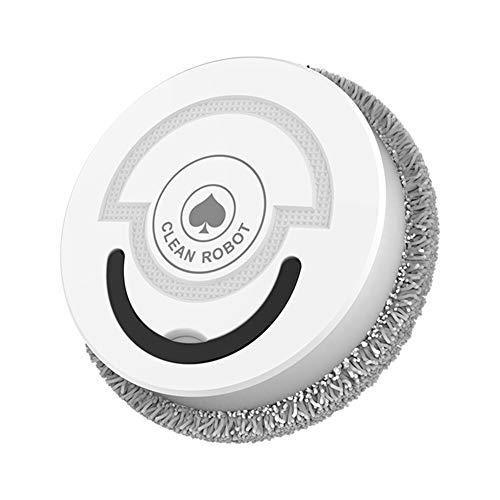 Mopa USB Aspirador de carga rotatorio (blanco)