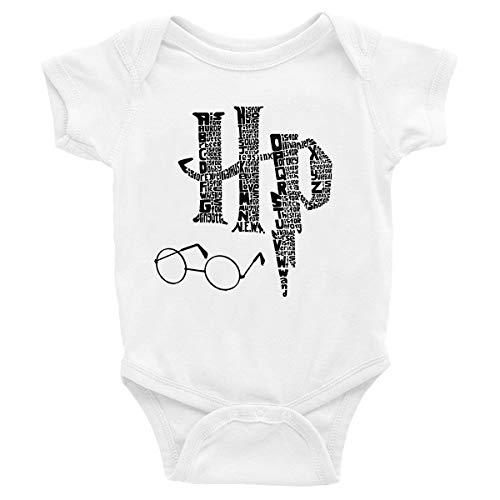 Body Neonato Harry Potter - HP - Hogwarts - Pagliaccetto - Tutina - Taglie da 0 Mesi - Idea Regalo